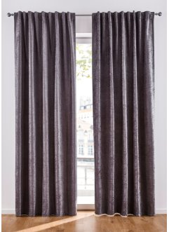 Chenille gordijn (1 stuk), bpc living bonprix collection