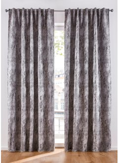 Jacquard gordijn met dessin (1 stuk), bpc living bonprix collection