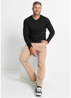 Henley shirt (set van 2), lange mouw, bpc bonprix collection