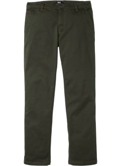 Regular fit thermo chino, straight, bpc bonprix collection