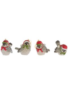 Hangdecoratie vogels (set van 4), bpc living bonprix collection