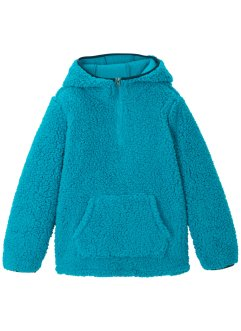 Teddy fleece hoodie, bpc bonprix collection