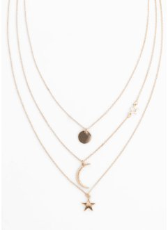 Drierijige ketting, bpc bonprix collection