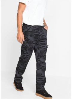 Baggy fit cargo broek, straight, RAINBOW