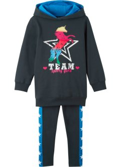 Hoodie en legging (2-dlg. set), bpc bonprix collection