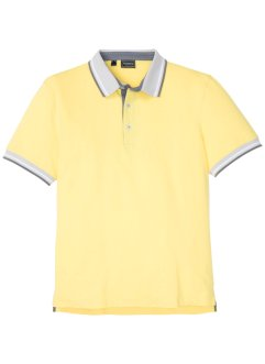 Stretch piqué poloshirt, slim fit, RAINBOW
