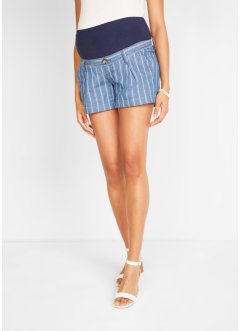 Zwangerschaps jeans short met strepen, bpc bonprix collection