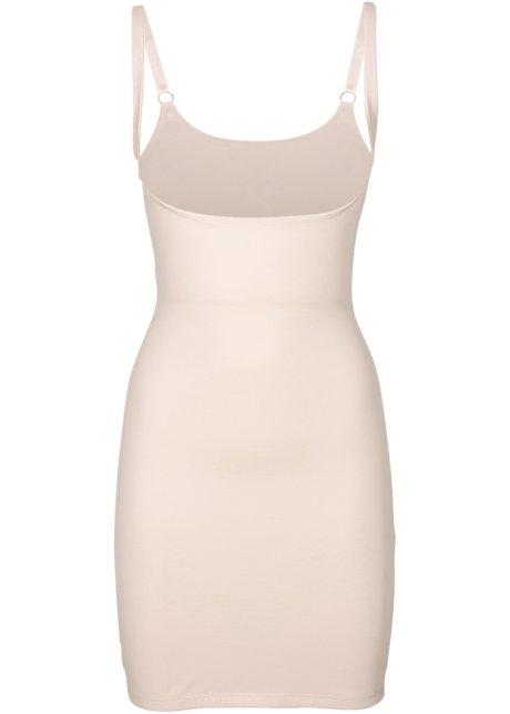 050583658c7b83 Corrigerende jurk met verstelbare bandjes - huidskleur