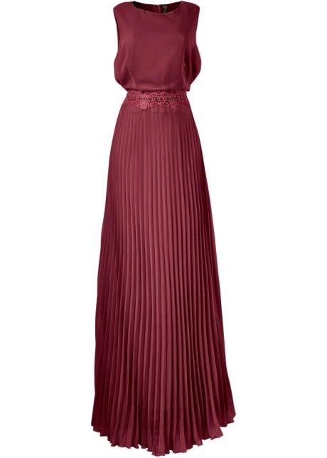 donkerrode jurk