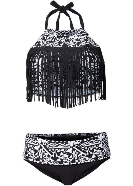 zwart wit bikinibroekje
