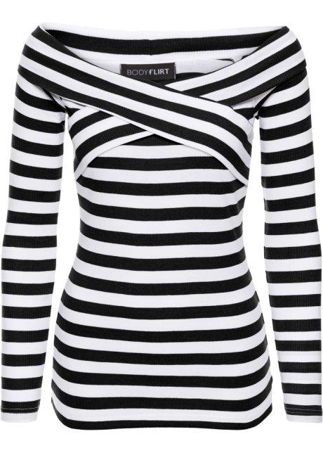 Populair Shirt zwart/wit gestreept - BODYFLIRT - bonprix.nl OO98
