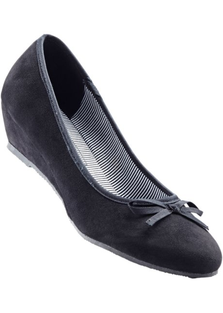 Femmes Ballerines En Noir - Collection Bpc Bonprix VPUl2
