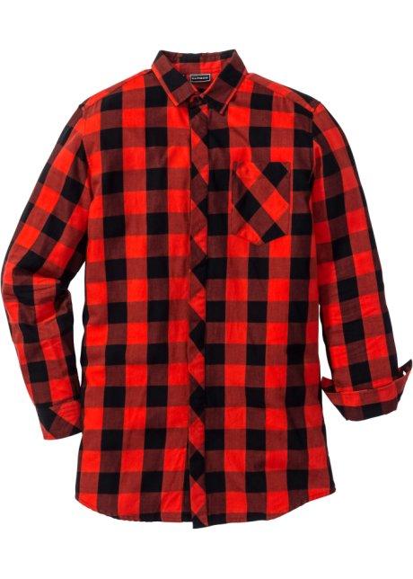Zwart Rood Overhemd.Overhemd Zwart Rood Geruit Rainbow Koop Online Bonprix Nl