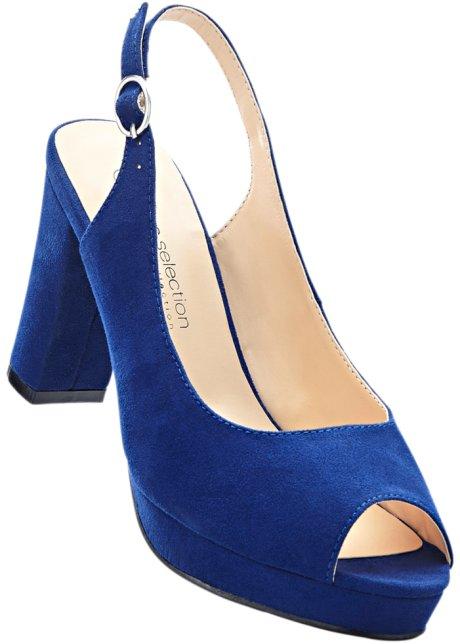 Bpc Sélection Bonprix Chaussures Bleu Taille 37 Avec Talon Bloc Pour Les Femmes xObf38hK