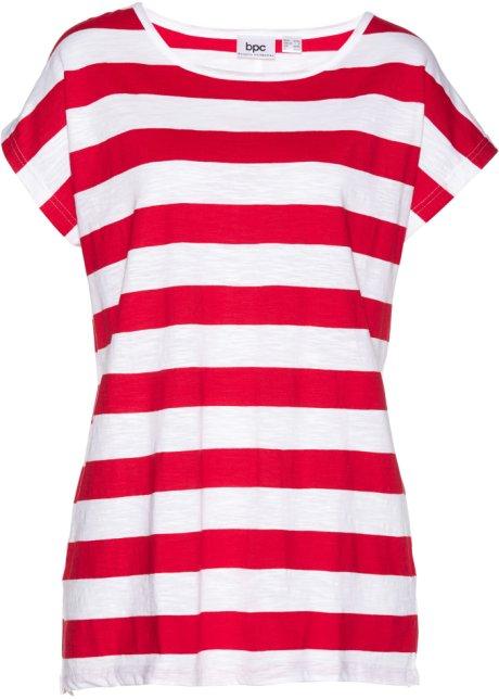 bc2af9e6651f91 Bigshirt rood wit gestreept - bpc bonprix collection bestel online ...