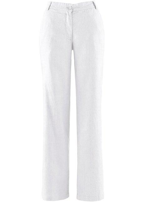 linnen broek wit