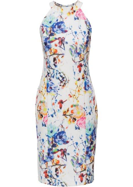 Wit blauwe jurk