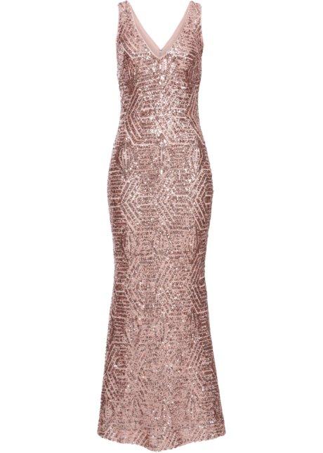 pailletten jurk lang