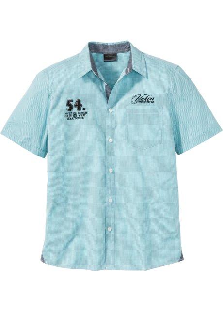 Overhemd Mintgroen.Overhemd Mintgroen Geruit Bpc Selection Koop Online Bonprix Nl