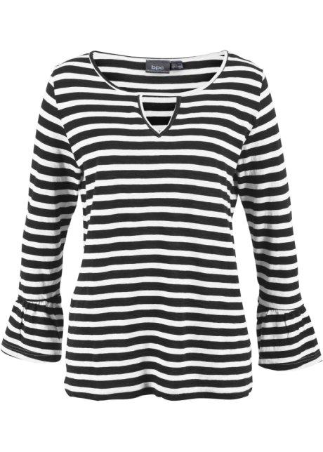 zwart wit gestreept shirt