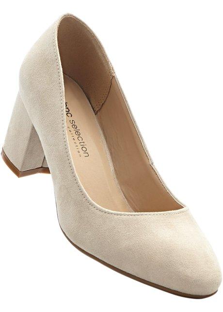 Bpc Sélection Bonprix Chaussures Beige Taille 37 Avec Talon Bloc Pour Les Femmes 1vQyL