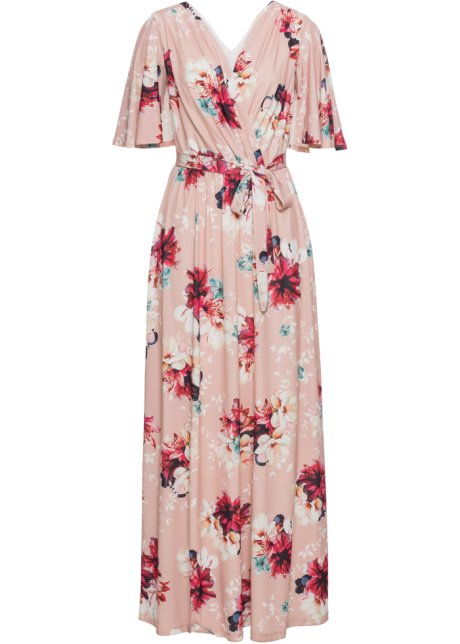 gebloemde maxi jurk