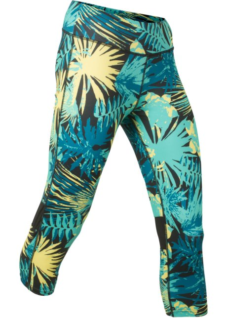 Sportlegging Vrouwen.3 4 Sportlegging Level 1 Zwart Gedessineerd Dames Bonprix Nl
