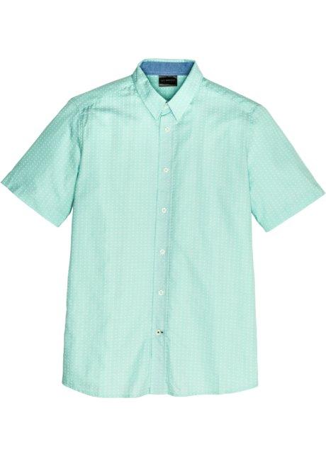 Overhemd Mintgroen.Overhemd Mintgroen Gedessineerd Heren Bonprix Nl