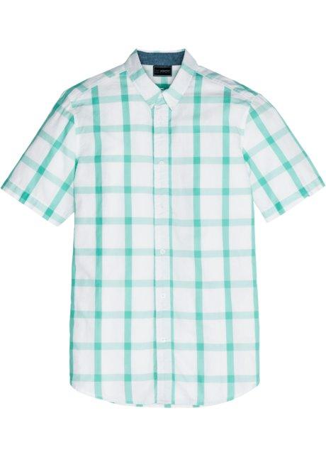 Mintgroen Heren Overhemd.Overhemd Mintgroen Wit Geruit Heren Bonprix Nl