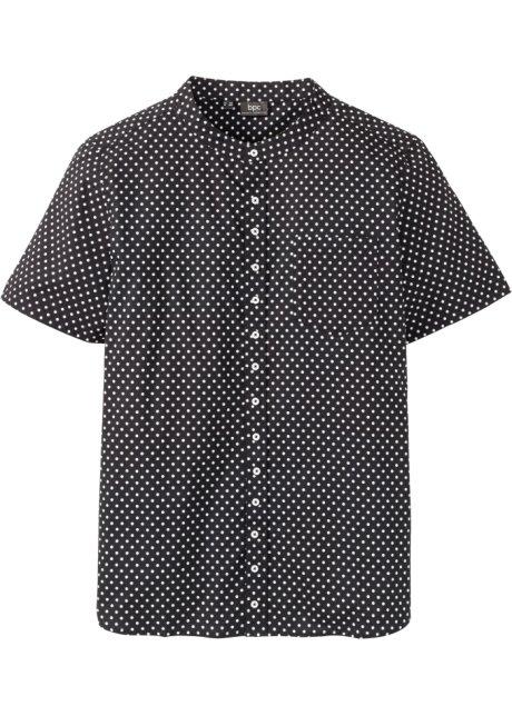 Overhemd Zwart Wit.Overhemd Zwart Wit Gestippeld Bpc Bonprix Collection Bonprix Nl