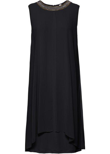 4e7f5ae611018f Jurk zwart - BODYFLIRT boutique koop online - bonprix.nl