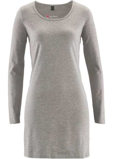 Basic Katoenen Jurk Van Stretch Jersey Uit De I Love My Basic