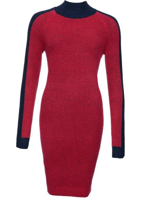 14eb8c00c0d5f5 Jurk rood donkerblauw - RAINBOW koop online - bonprix.nl