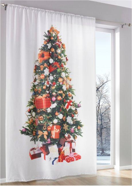 Overgordijn Kerstboom 1 Stuk Wit Multicolor Wonen Bonprix Nl