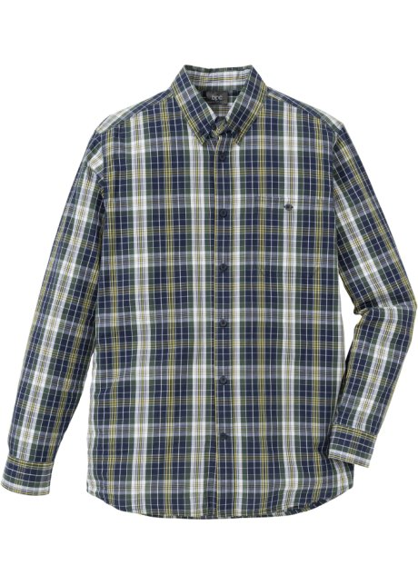 Groen Geruit Overhemd.Overhemd Groen Donkerblauw Geruit Bpc Bonprix Collection Bonprix Nl