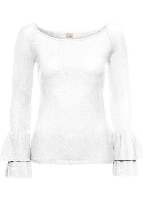 72d99078dd5f5a Trui wit - BODYFLIRT boutique koop online - bonprix.nl