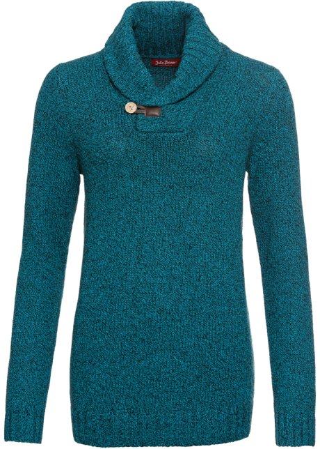 Trui Blauw Dames.Trui Blauw Gemeleerd Dames John Baner Jeanswear Bonprix Nl