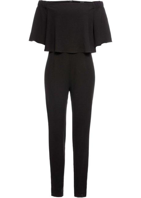 jumpsuit zwart - dames - bodyflirt - bonprix.nl