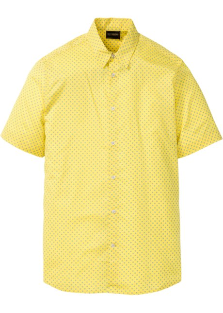Geel Overhemd Heren.Overhemd Geel Gestippeld Heren Bonprix Nl