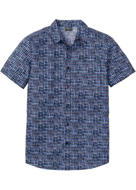 Overhemd Donkerblauw.Overhemd Donkerblauw Gedessineerd Rainbow Koop Online Bonprix Nl