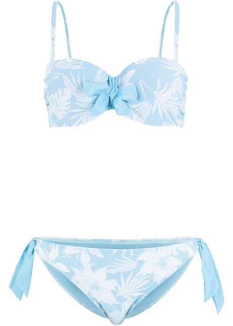04bf5d3271f81a Beugel bikini (2-dlg. set) lichtblauw/wit - bpc bonprix collection ...