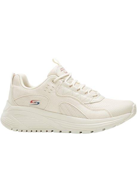 Comfortabele sneakers van Skechers - wit