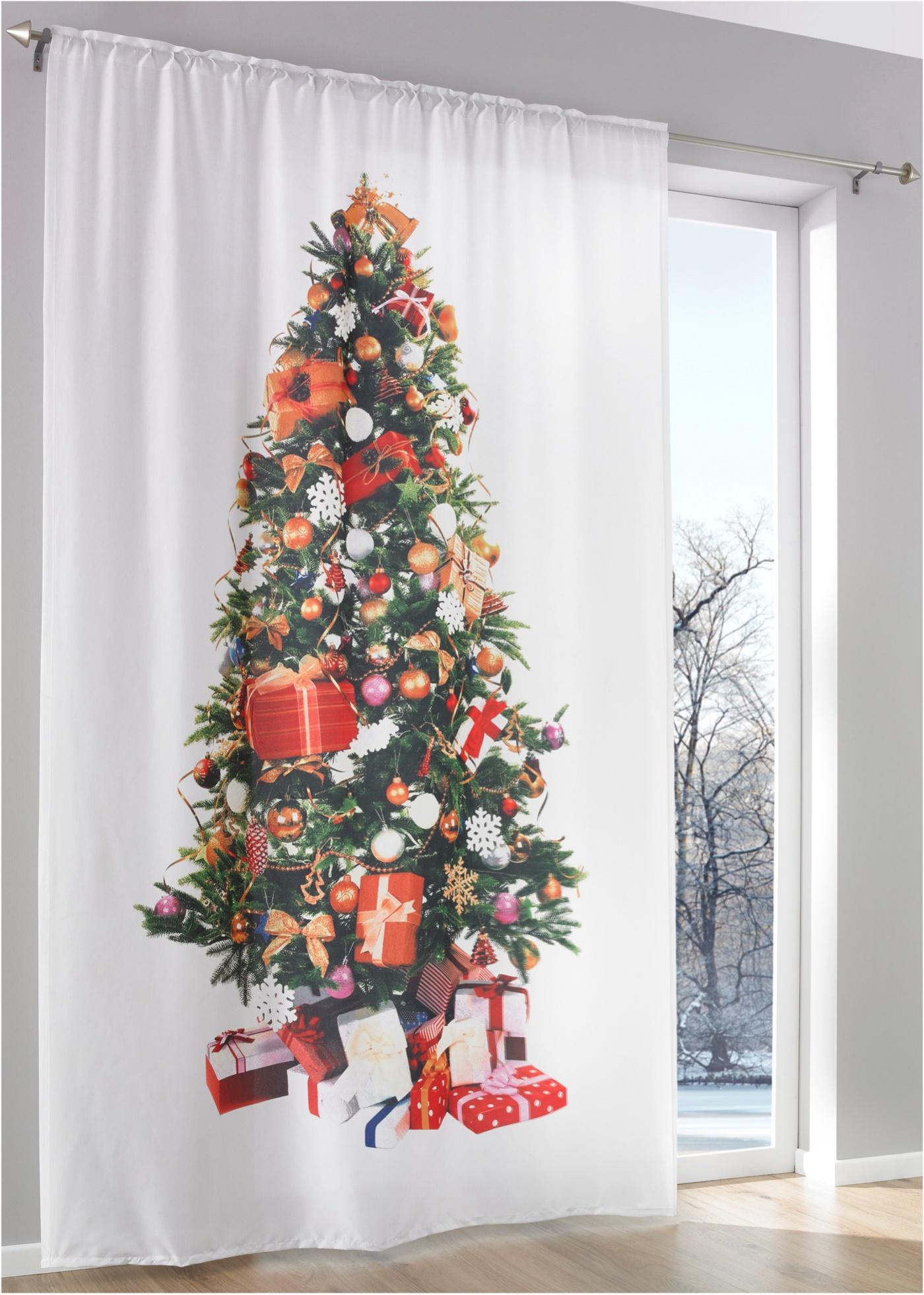 Overgordijn Kerstboom (1 stuk)