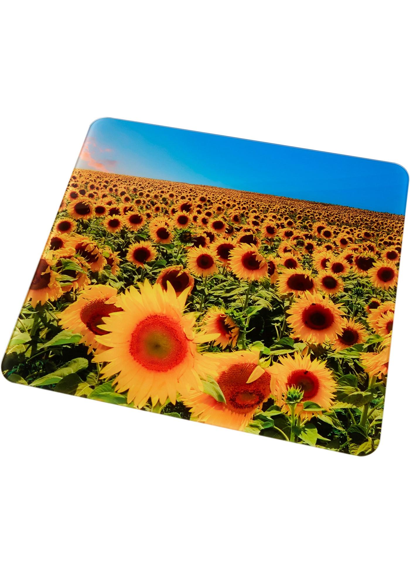 Universele afdekplaat Zonnebloemen (1 stuk)