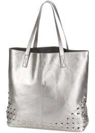 Shopper «Luzy», bpc bonprix collection, zilverkleur
