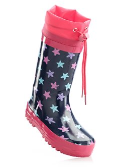 Rubberlaarzen, bpc bonprix collection, blauw/pink