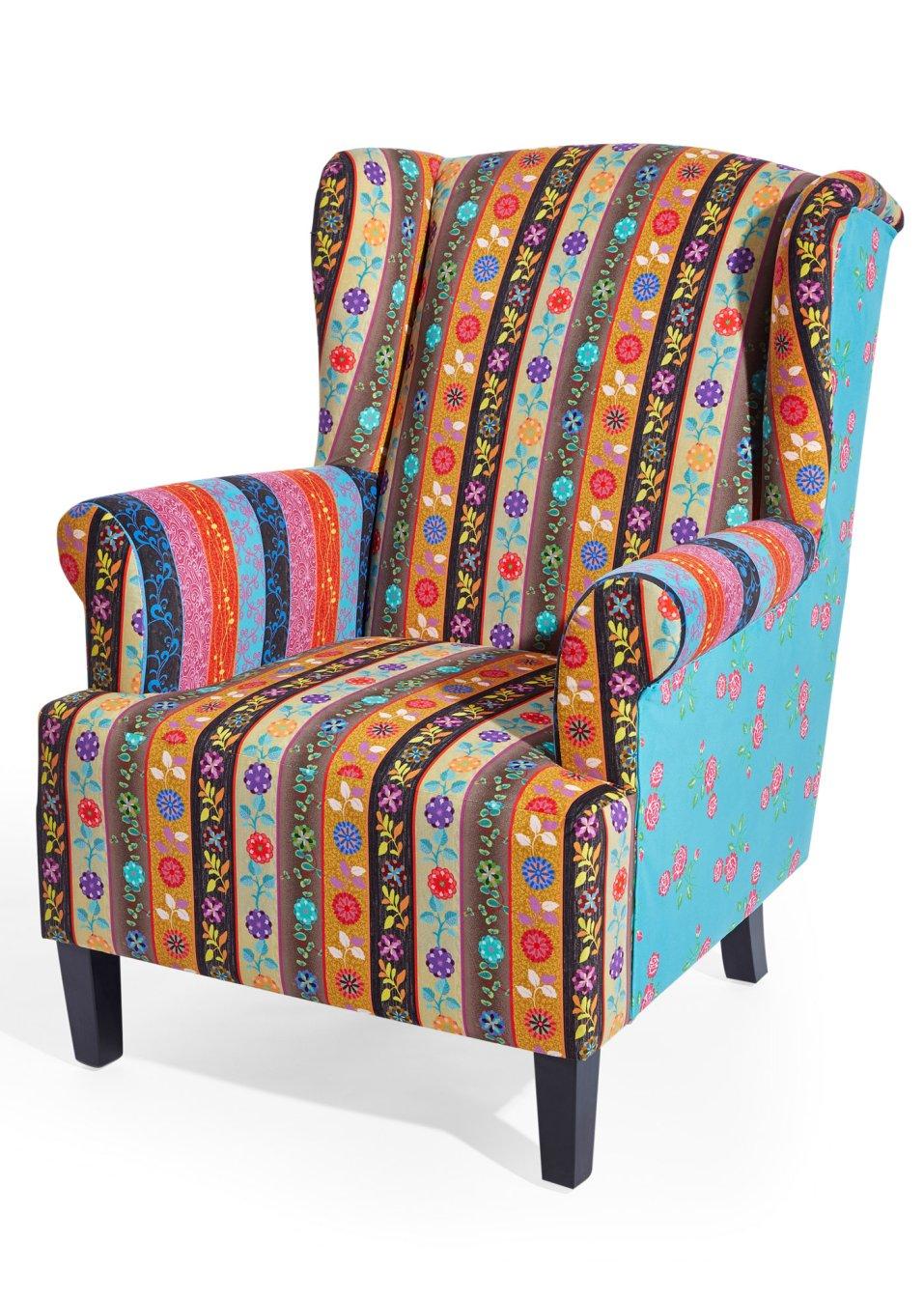 Fauteuil aladdin multicolor bpc living koop online for Moderne bequeme sessel
