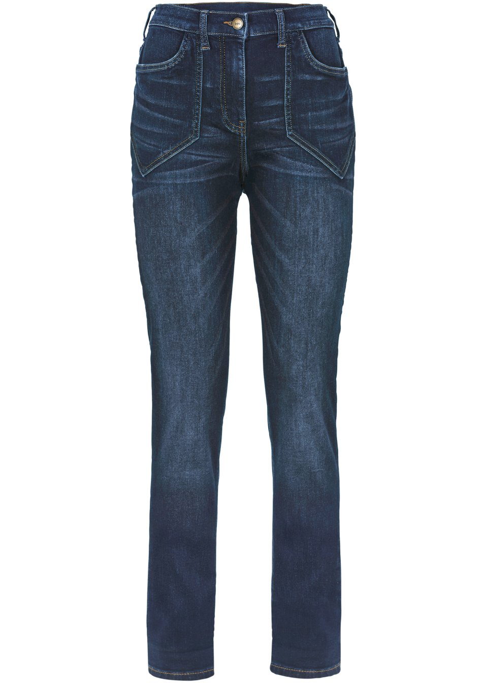 Stretchjeans hoge taille