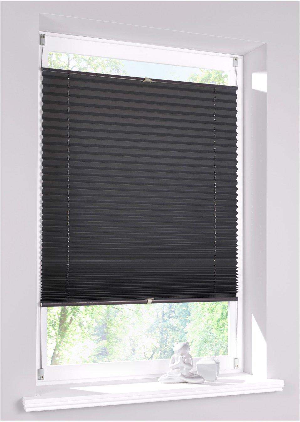 pliss verduistering grijs bpc living koop online. Black Bedroom Furniture Sets. Home Design Ideas